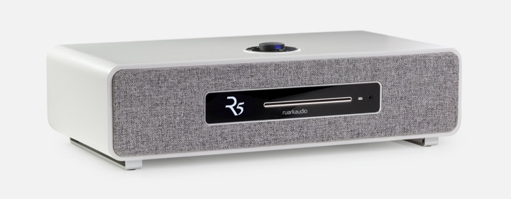 Ruark Audio R5 in Soft Grey lacquer finish