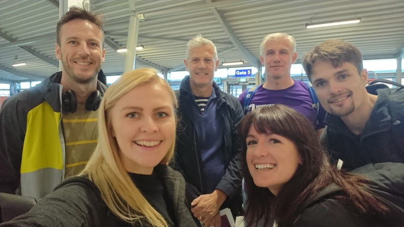 Ruark team photo at southend airport