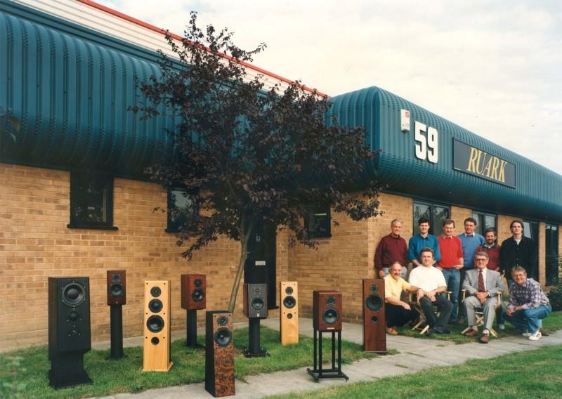 The Ruark team in 1996