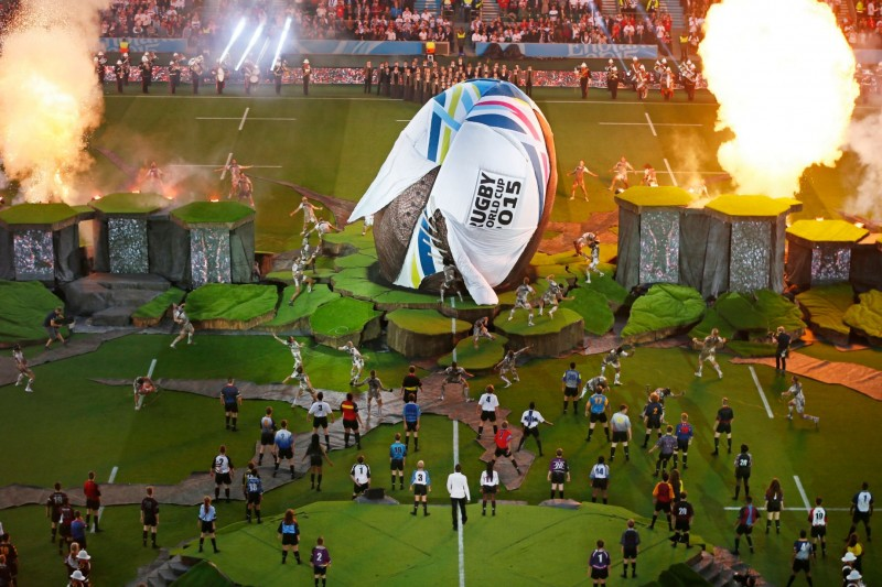 Rugby World Cup set, by Misty Buckley
