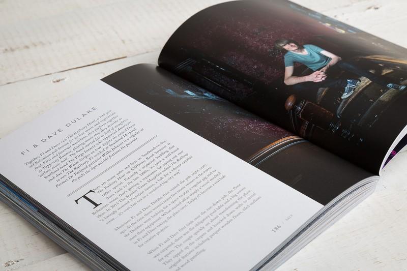 An open page of Salt magazine