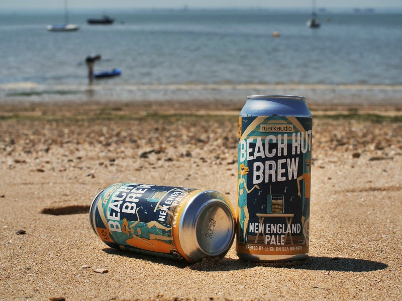 Ruark Audio Beach Hut Brew, New England Pale Ale by Leigh on Sea Brewery