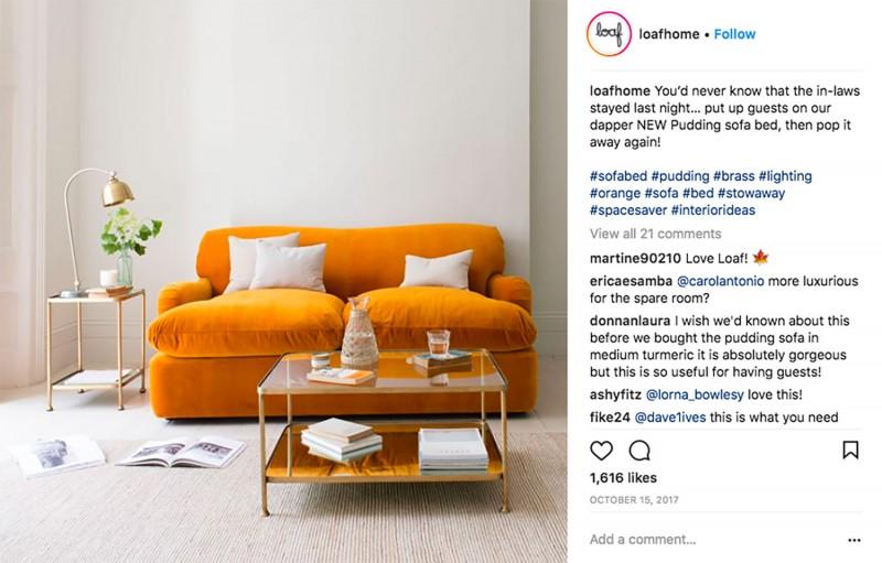 Interior design trends - bold pigments