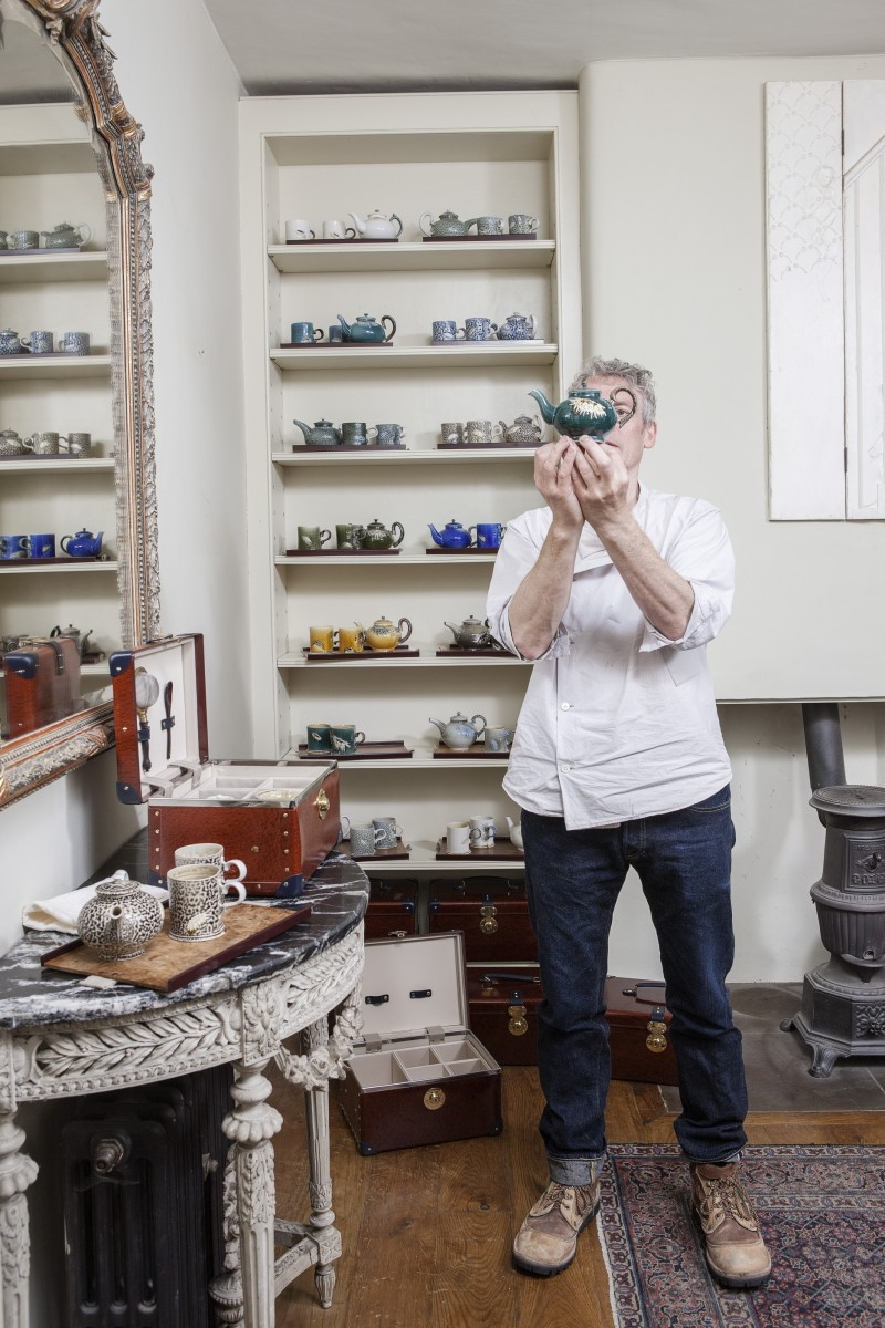 Steve Harrison, the salt glaze potter