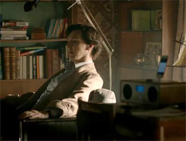BBC's Sherlock with Ruark Audio R2i
