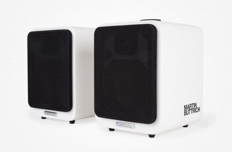 Martin Buttrich limited edition Ruark Audio MR1 Bluetooth speakers
