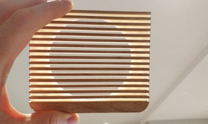Wooden grill for Ruark Audio R1 Mk4