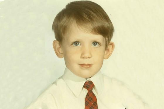 A young John
