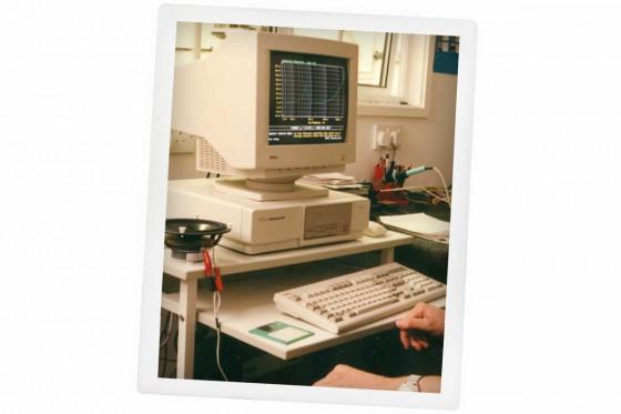 Ruark's 1991 computer system