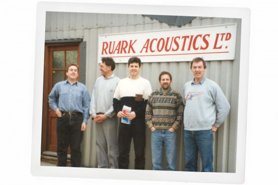 Neil Adams with the Ruark team in 1988