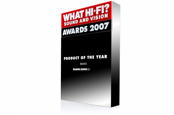 What Hi-Fi award for R2, Product of the Year 2007