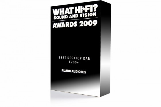 Ruark Audio R2i What Hi-Fi Best Buy 2009 Award
