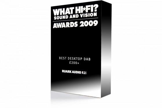 Ruark Audio R2i What Hi-Fi Best Buy 2009 Award