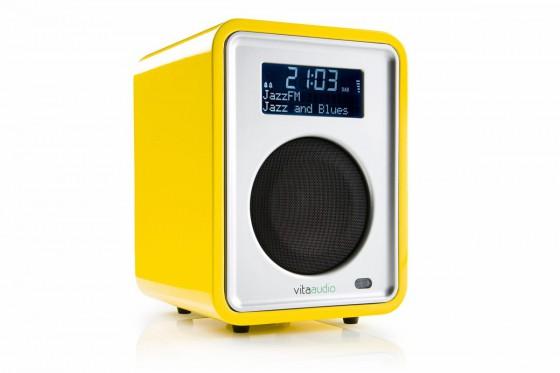 Limited Edition Ruark Audio Selfridges Yellow R1