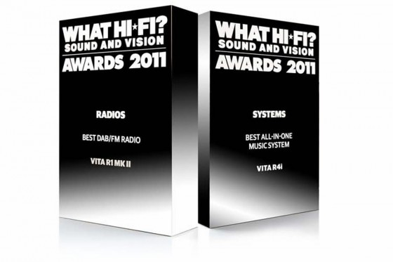 2011 What Hi-Fi awards for R1 and R4i