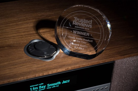 R7 with Trusted Reviews 'Home Audio Product of the Year' award